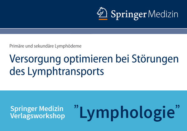 "Springer Medizin Verlagsworkshop ""Lymphologie"" am 20.01.2017 in Berlin"